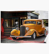 1933 Pontiac Deluxe 8 Touring Sedan II Poster