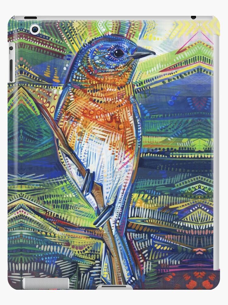 Happy bird painting - 2017 by Gwenn Seemel