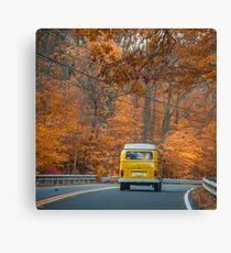 Autumn Drives through New England Canvas Print