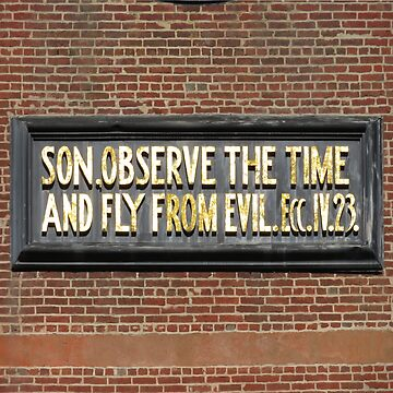Son, Observe the Time and Fly From Evil by dschweisguth