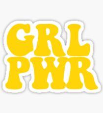 Pegatina GRL PWR - Estilo 2