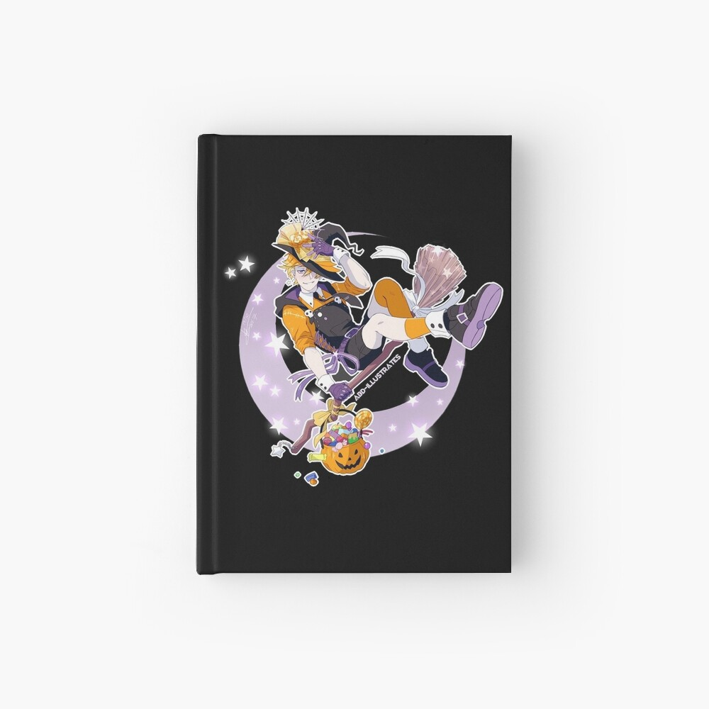 Trick or Treat Hardcover Journal