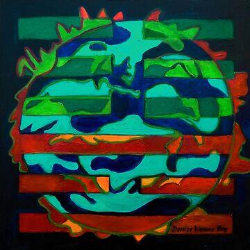 Hexagram 36 – Míng Yí (Brightness Hiding) by DWeaverRoss