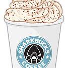 Sharkbucks: Pumpkin Spice Latte by bytesizetreas