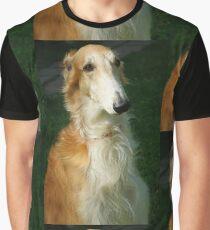 borzoi Graphic T-Shirt