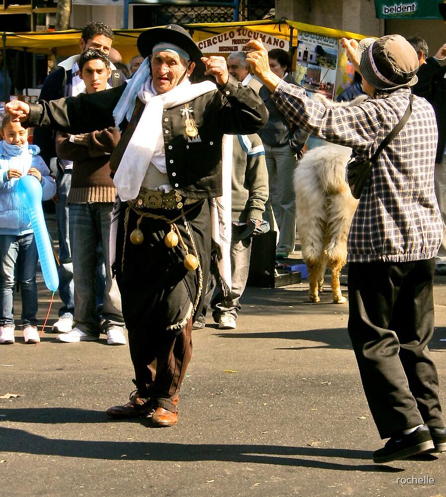 Dancing at the Feria de Mataderos by rochelle
