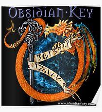 Obsidian Key - SLY Dragon - Progressive Rock Metal Music - Epic Style - (Branded) Poster