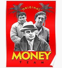 Original Geld Team Poster