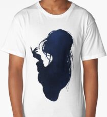 Sea breeze silhouette Long T-Shirt