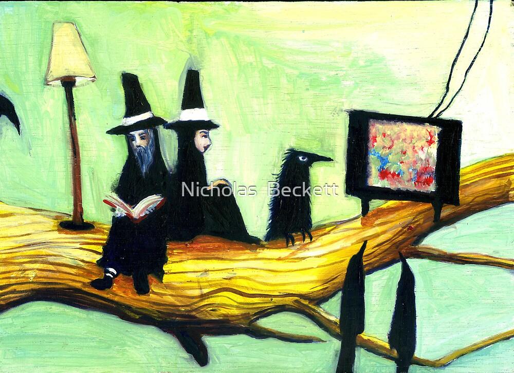 TV Friends by Nicholas  Beckett