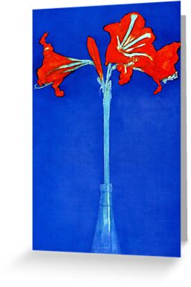 MONDRIAN, Amaryllis, Lilly, Piet Mondrian by TOM HILL - Designer