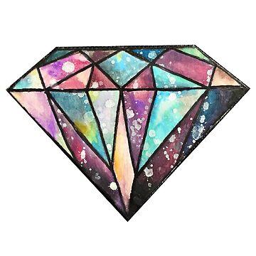 Galaxy Diamond by sofielian