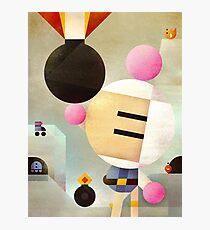 Bomberman remixed Photographic Print