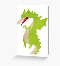 Cuphead Grim Matchstick Boss Art Greeting Card