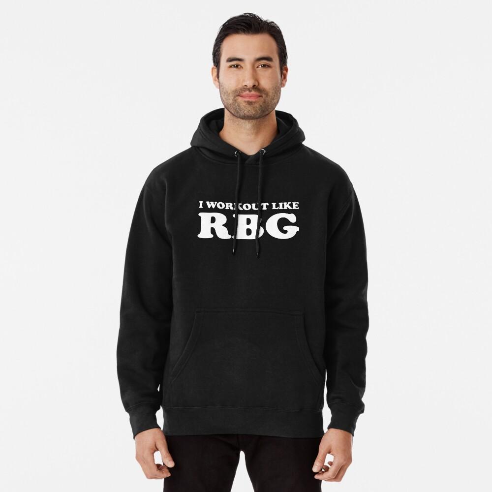 Ich trainiere wie RBG - Supreme Court Übung Hoodie