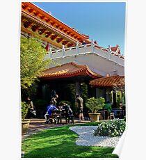 Nan Tien Buddhist Temple - reception Poster