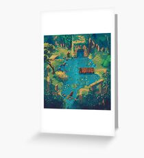 Bearly Exciting Fishing Championship Boty Deluxe Greeting Card