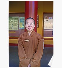 Nan Tien Buddhist Temple - Ven. Ru Yi  Poster