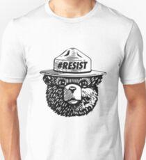 Smokey resist national park t-shirt Slim Fit T-Shirt