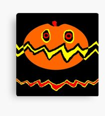 Halloween Citrouille 02 Canvas Print