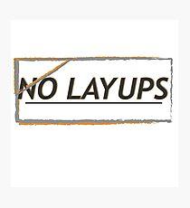NoLayUps Photographic Print