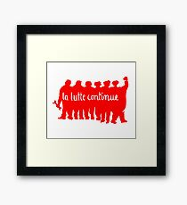 Paris 68 Uprising 1 Framed Print