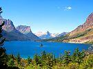 Glacier Park Lake View by Tamara Valjean