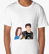 JD and Veronica - Heathers Long T-Shirt