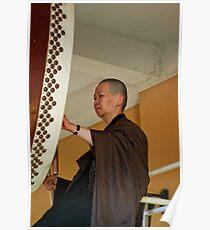 Nan Tien Buddhist Temple Drummer Poster
