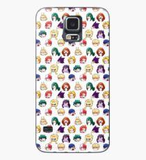 BNHA Pattern Case/Skin for Samsung Galaxy