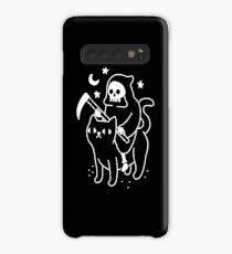 Death Rides A Black Cat Case/Skin for Samsung Galaxy