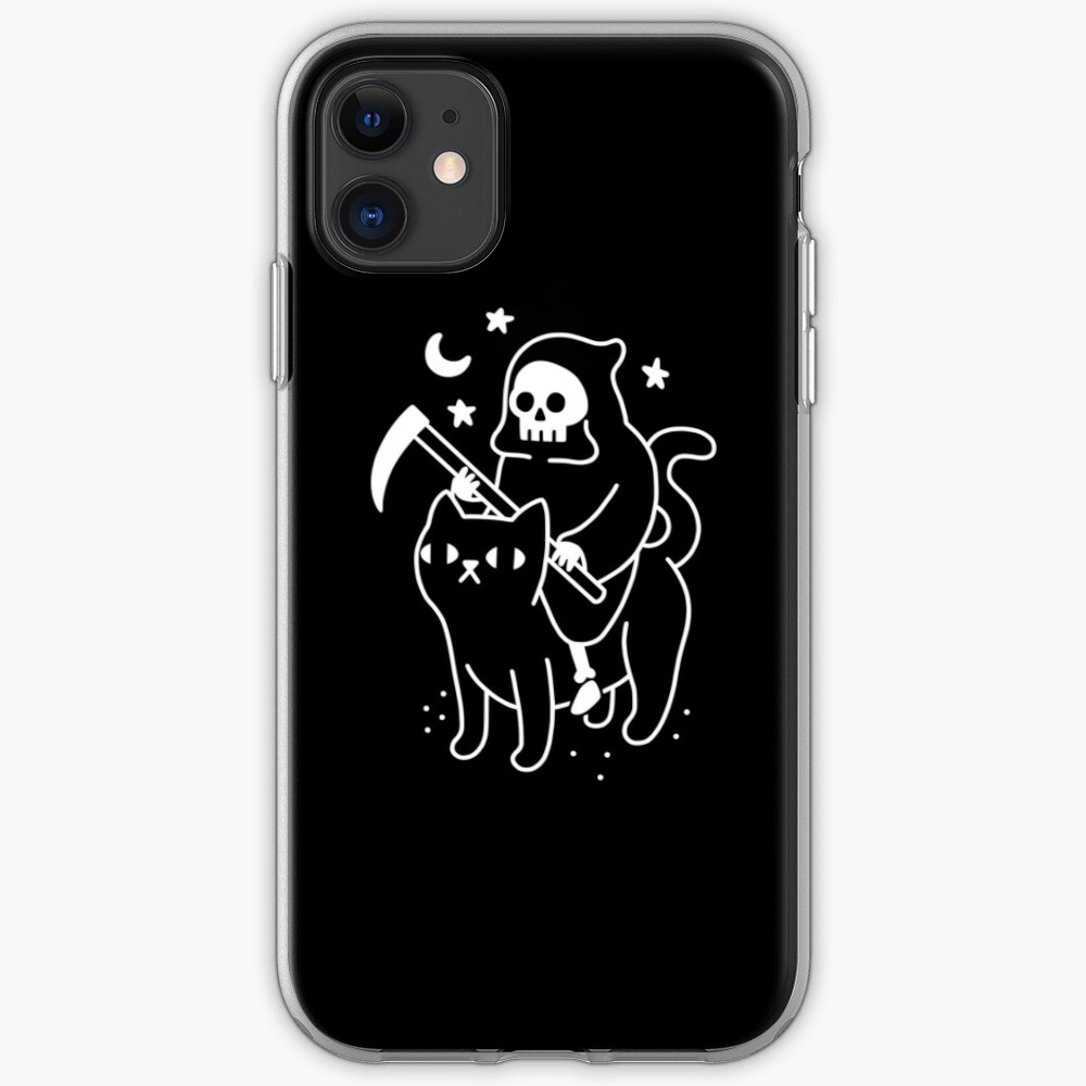 Botanical and Black Cats iPhone 11 case