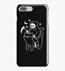 Death Rides A Black Cat iPhone 7 Plus Case