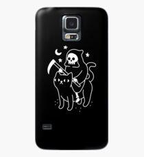 Todesfahrten Eine schwarze Katze Hülle & Skin für Samsung Galaxy