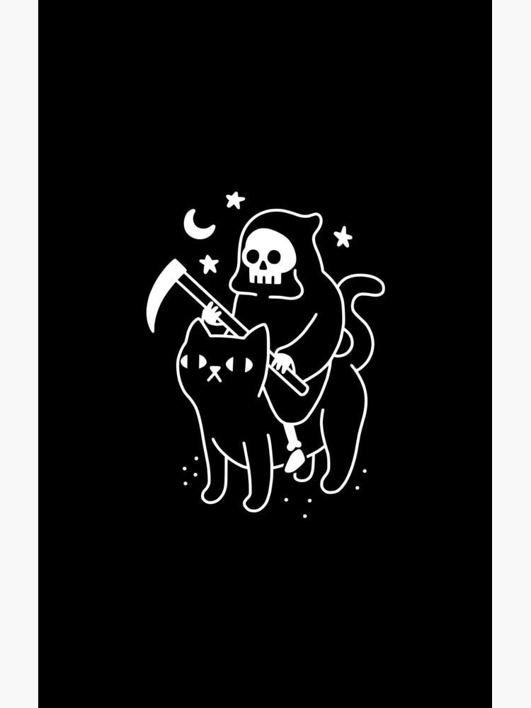 Todesfahrten Eine schwarze Katze von obinsun