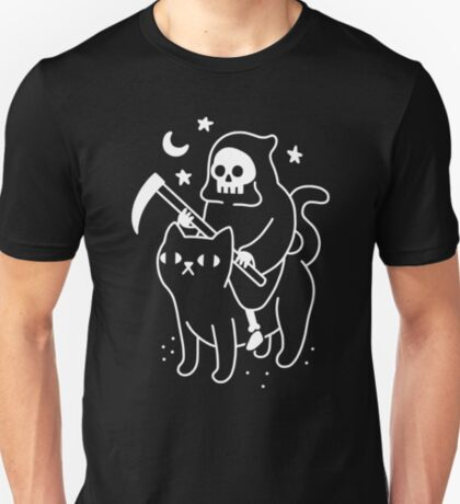 Death Rides A Black Cat T-Shirt
