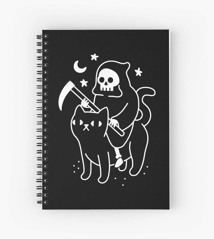 «La muerte monta un gato negro» de obinsun
