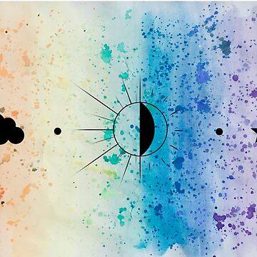 Rainbow Sherbet Sky  by PookaLukaTuka