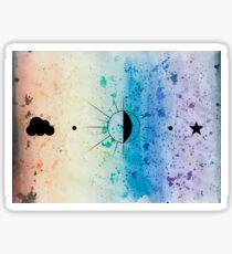 Rainbow Sherbet Sky  Sticker