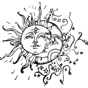 Sun & Moon de verysadpeople