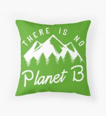 There is No Planet B Floor Pillow