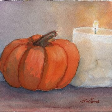 Pumpkin and Candle by timmyspeed