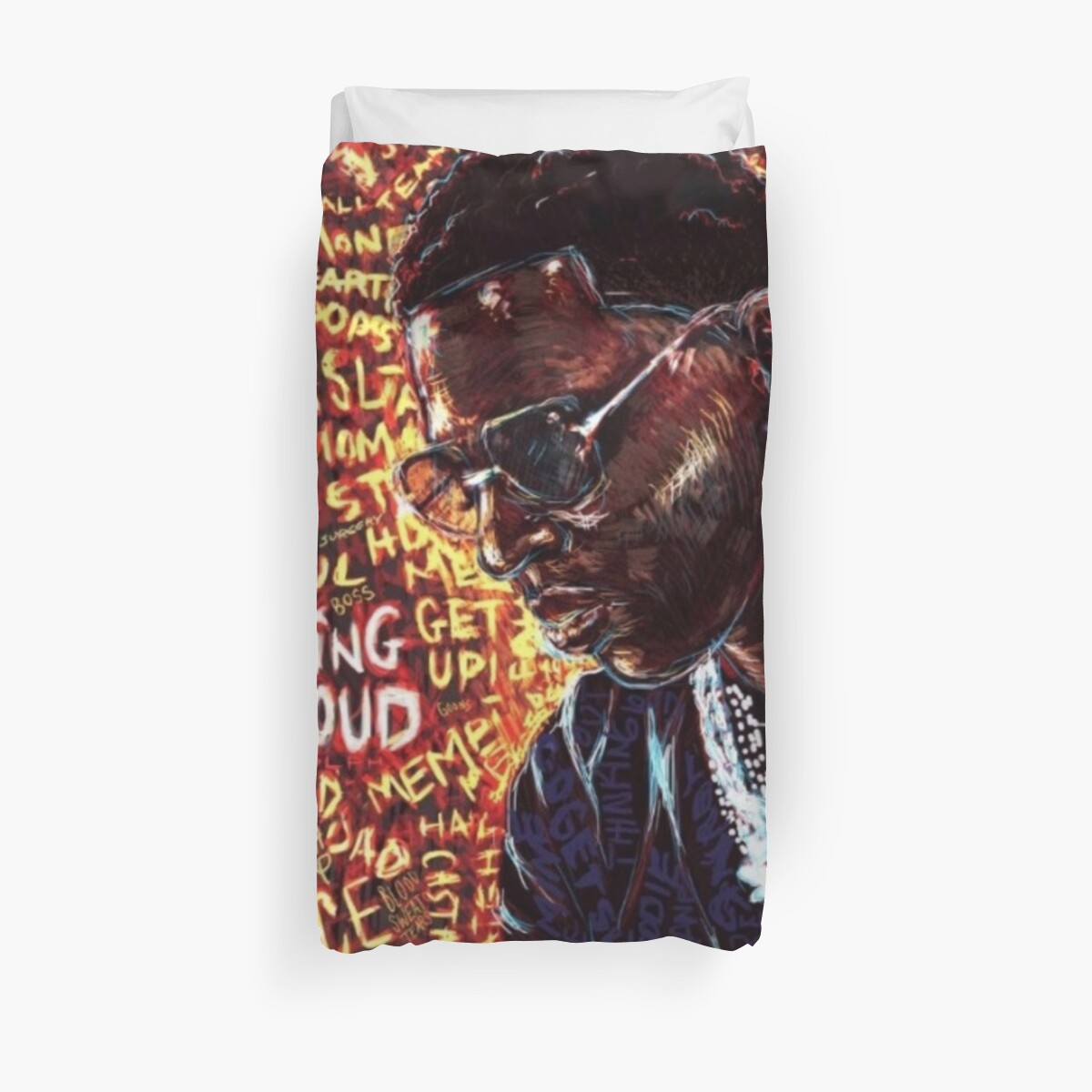 Thinking Out Loud Duvet Cover
