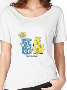 bits-a-cat prime dog food Women's Relaxed Fit T-Shirt