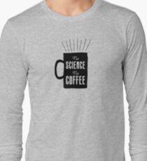 No Science, No Coffee Long Sleeve T-Shirt