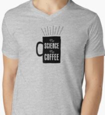 No Science, No Coffee Men's V-Neck T-Shirt