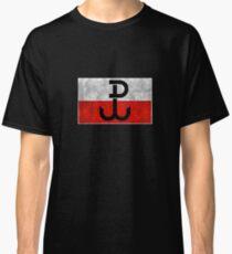 Polish Resistance  Poland  Powstanie Warszawskie  AK Flag  Polska  T-Shirt Sweater Hoodie Iphone Samsung Phone Case Coffee Mug Tablet Case Gift Classic T-Shirt