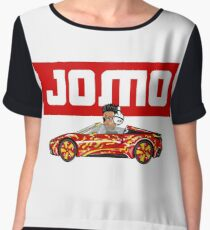 JOMO- THE IMMENSE JOY OF MISSING OUT Women's Chiffon Top