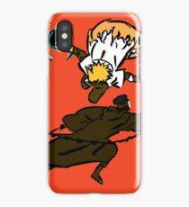 Minato vs Obito iPhone Case/Skin