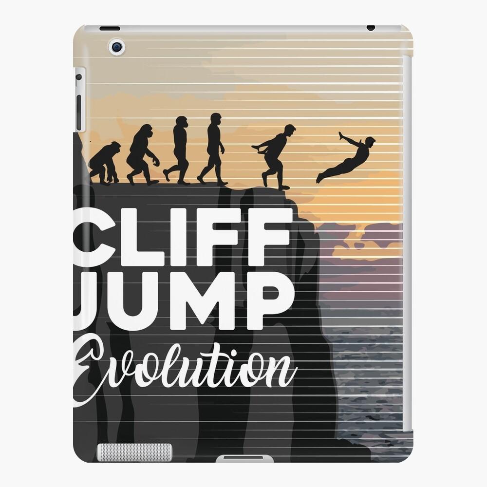 Cliff Jump Evolution Cliff Diving iPad Case & Skin